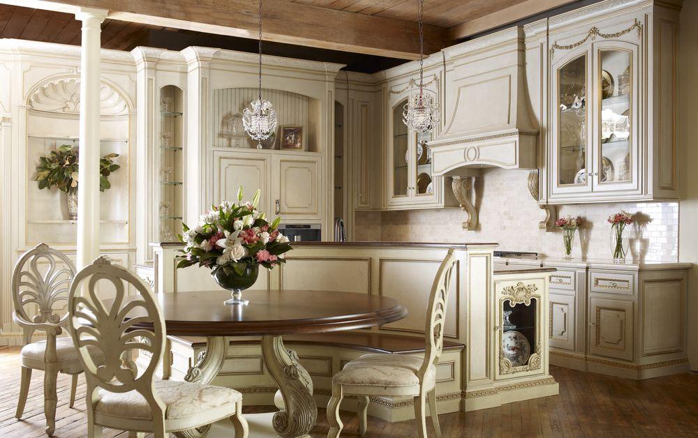 Kuchnia w stylu prowansalskim  Design i wnętrze -> Kuchnia Prowansalska Z Wyspą