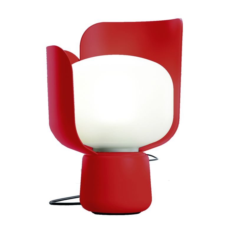 lampa czerwona