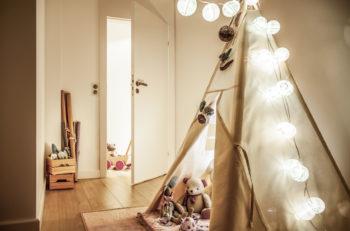 styl skandynawski w pokoju dziecka