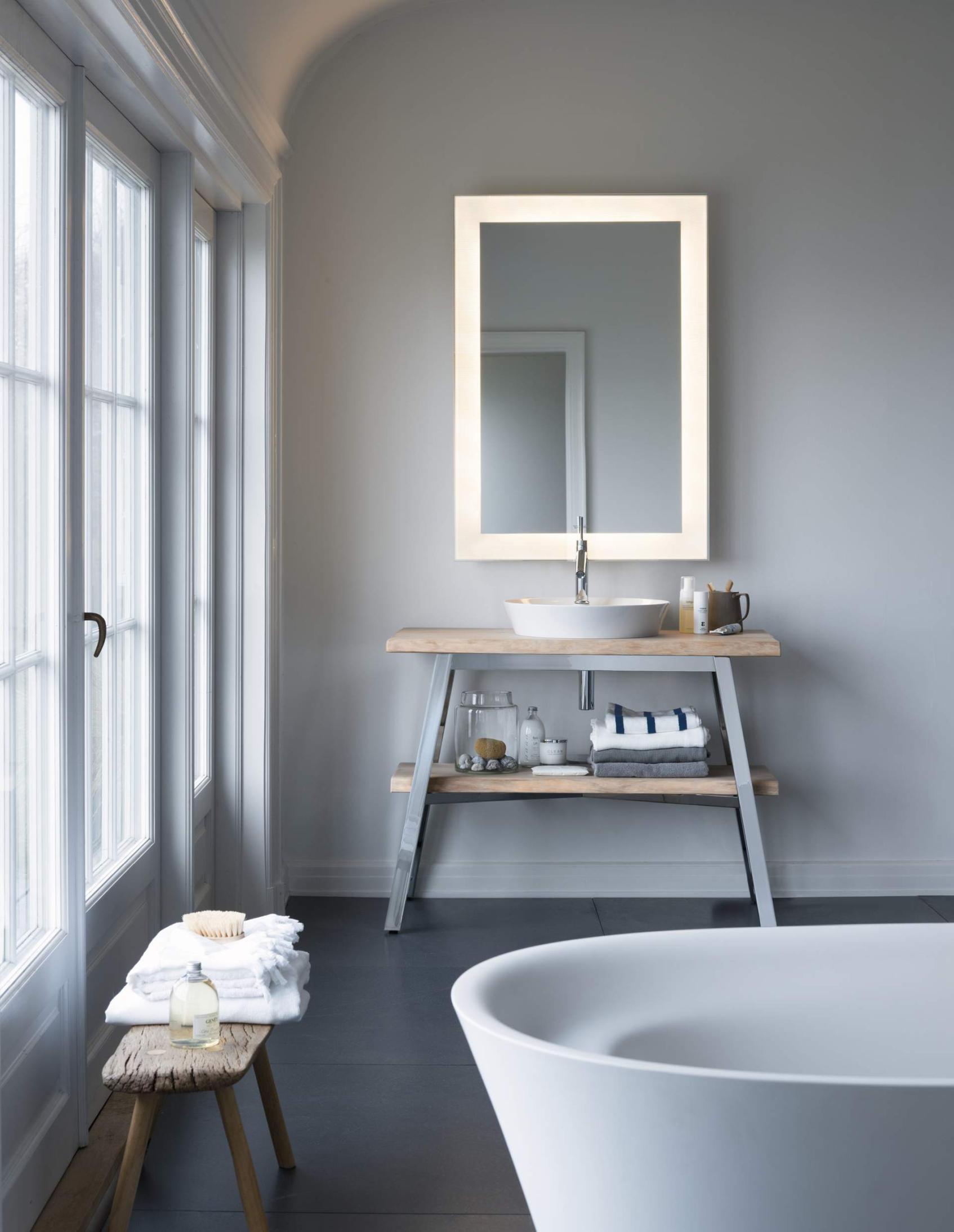 szara łazienka jak urządzić szarą łazienkę