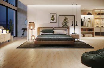 drewno skandynawski styl w domu