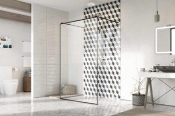 prysznic z brodzikiem, prysznic bez brodzika , kabina prysznicowa