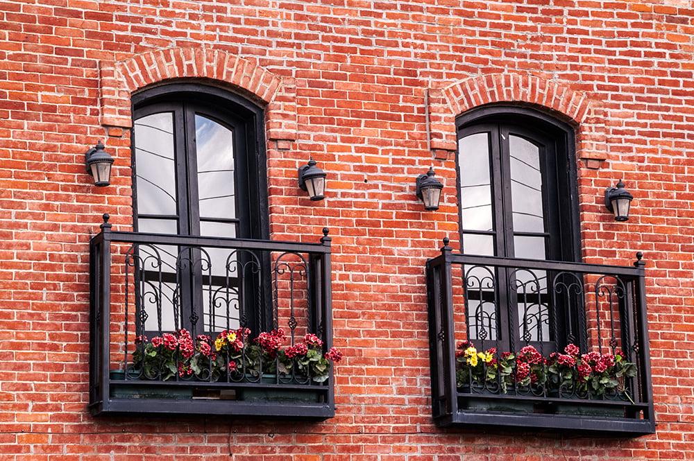 balkon francuski aranżacja