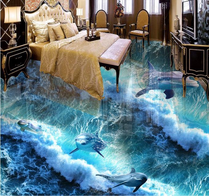 podłoga 3d ocean
